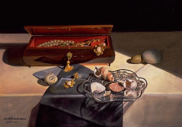 Коробка с дрогоценностями. Линда Манн