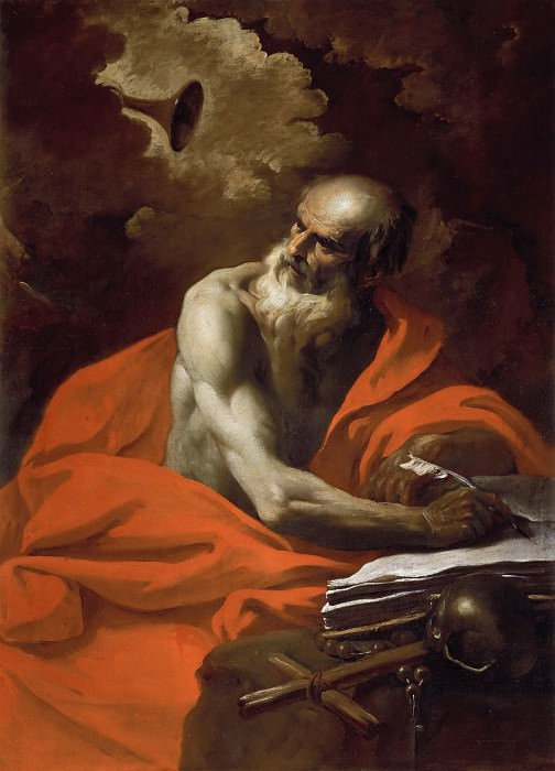 Saint Jerome (Attr). Pier Francesco Mola