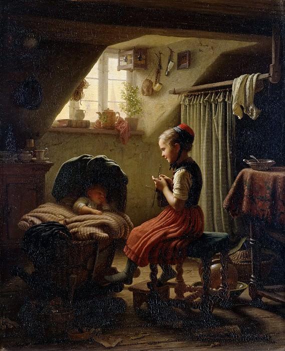 A lullaby. Johann Georg Meyer von Bremen