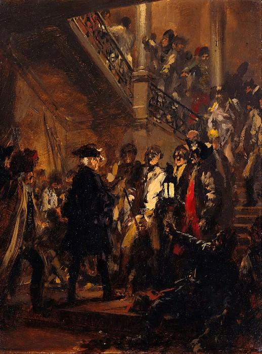 Frederick II after the Success of the Battle near Leuthen (December 5, 1757). Adolph von Menzel