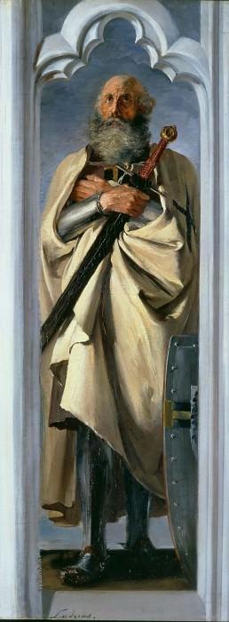 Великий Магистр Людгер фон Брауншвейг. Адольф фон Менцель