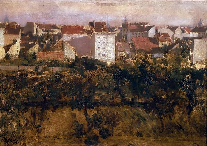 Вид на Хинтерхаузер. Адольф фон Менцель