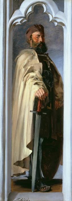 The Grand Master Siegfried von Feuchtwangen. Adolph von Menzel
