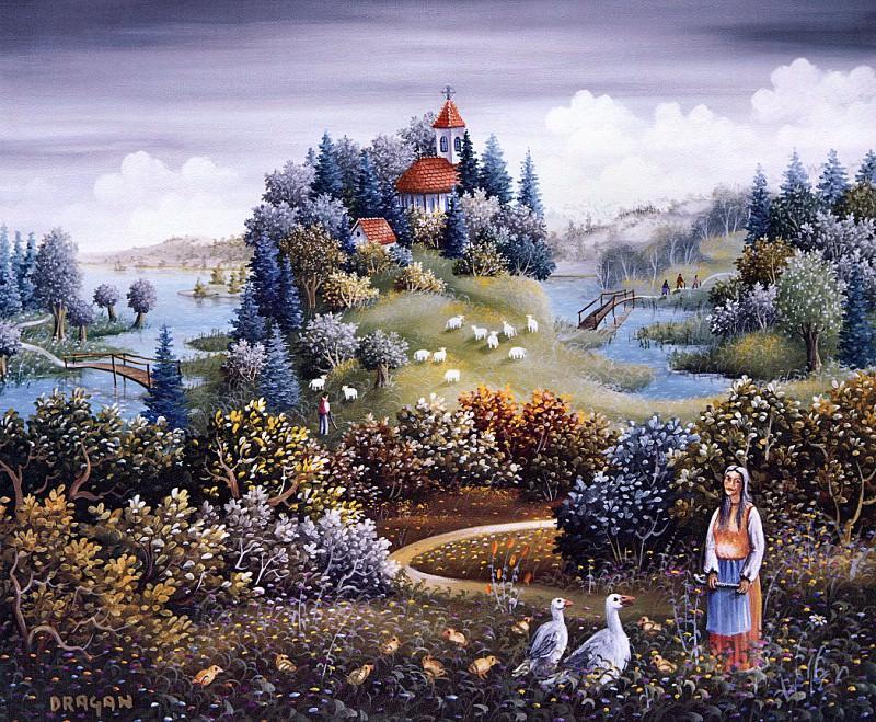 Mihailovic, Dragan - A Charming & Bucolic Scene (end. Михайлович Драган