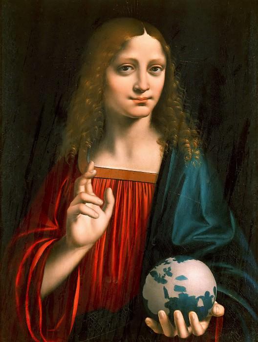 Salvator Mundi. Marco d'Oggiono