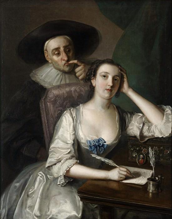 The Letter Writer. Philippe Mercier