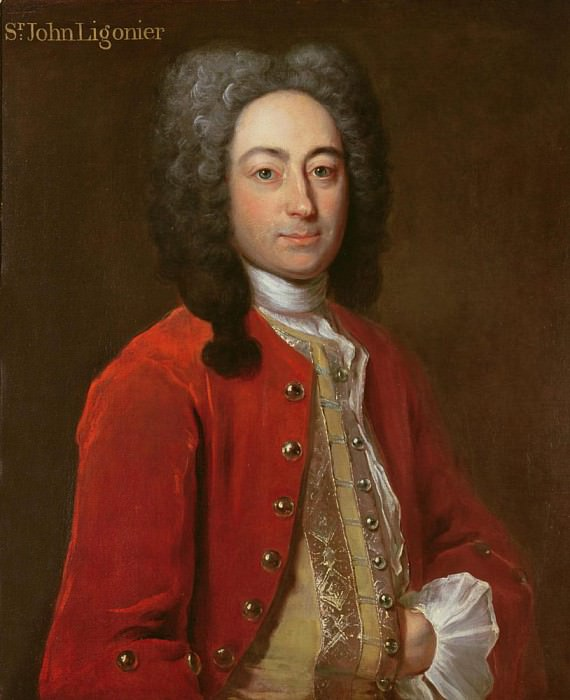 Sir John Ligonier. Philippe Mercier