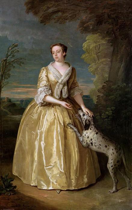 Portrait of Lady Jenkinson. Philippe Mercier