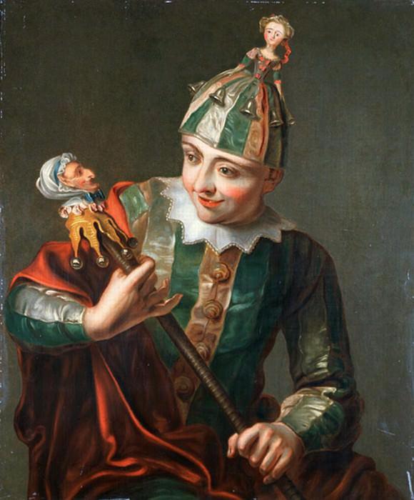 A Jester. Philippe Mercier