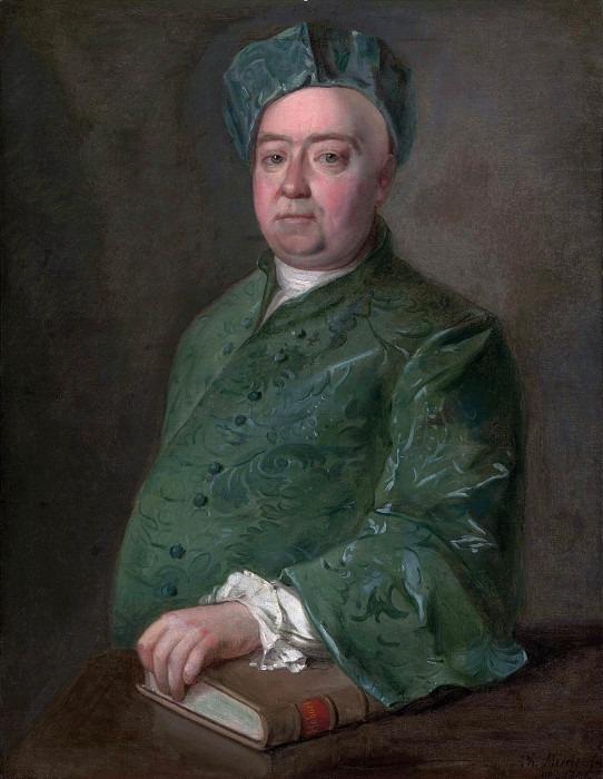 An Unknown Man. Philippe Mercier