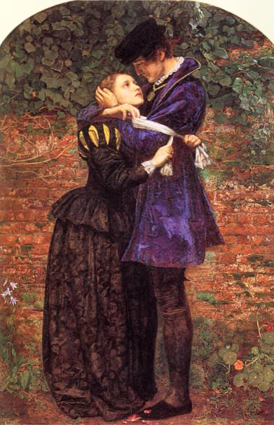 The Huguenot. John Everett Millais