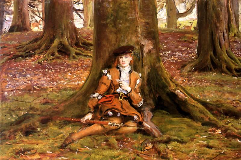 RosalindIn The Forest. John Everett Millais