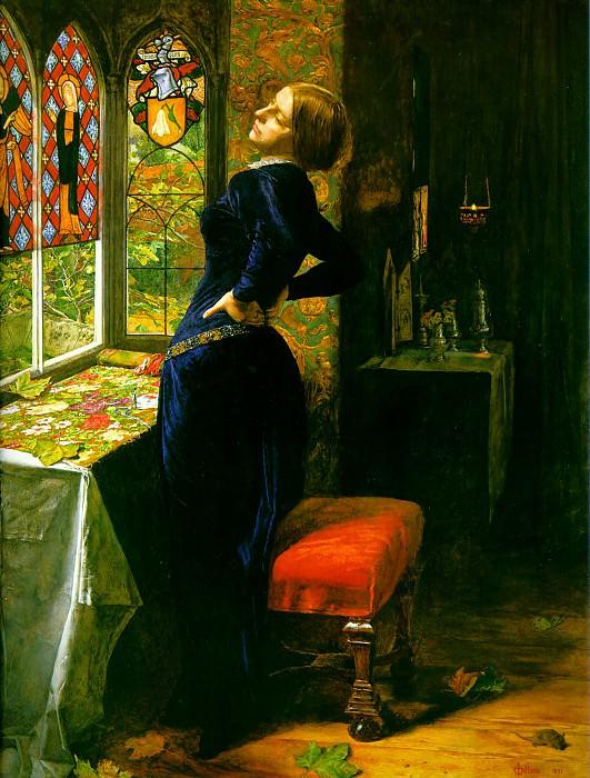 Mariana. John Everett Millais
