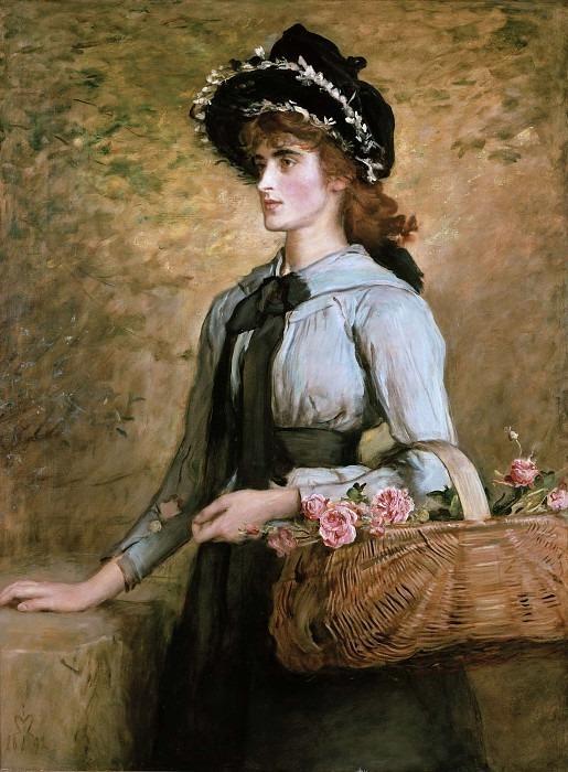 Прекрасная Эмма Морленд, 1892. Джон Эверетт Миллес