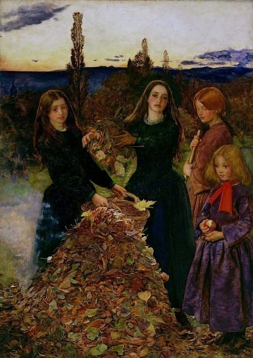 Осенние листья. Джон Эверетт Миллес