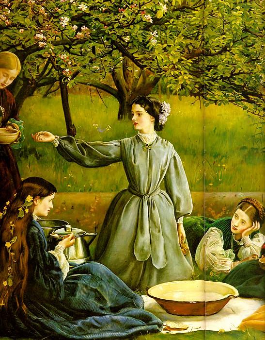 spring detail. John Everett Millais