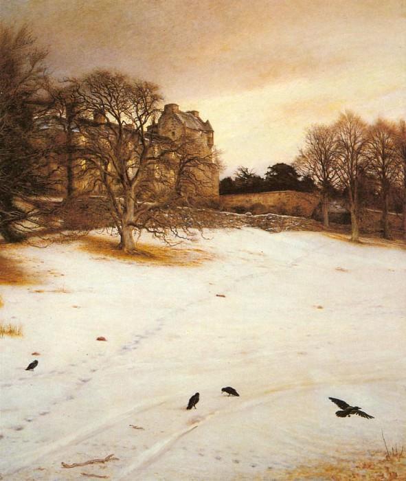 Christmas Eve 1887. John Everett Millais