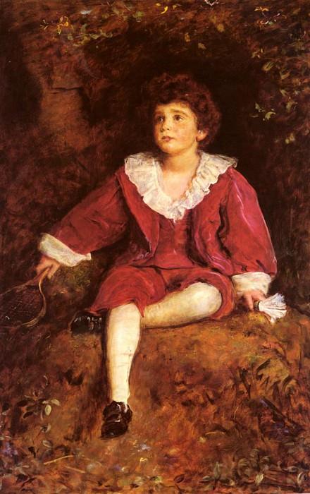 The Honourable John Nevile Manners. John Everett Millais