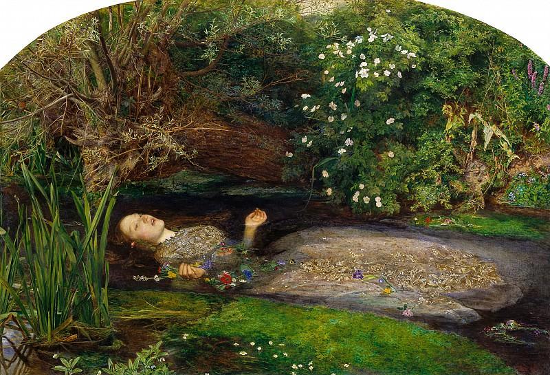 Ophelia. John Everett Millais