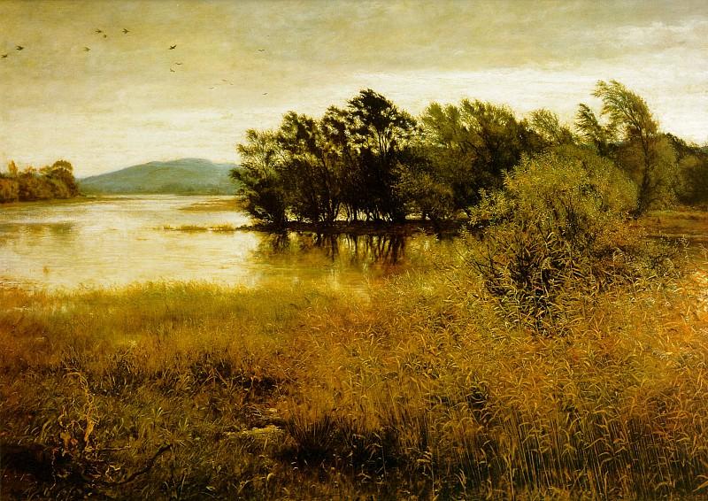 chill october. John Everett Millais