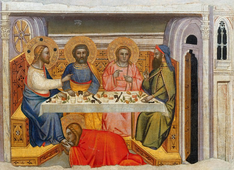 Supper in the House of the Pharisee (school). Giovanni da Milano