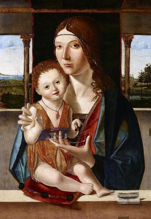Мадонна с младенцем. Антонелло да Мессина