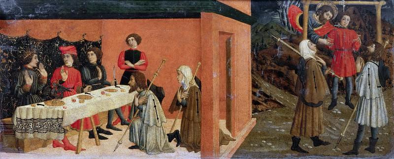 Miracle of Saint John. Giovanni Francesco da Rimini