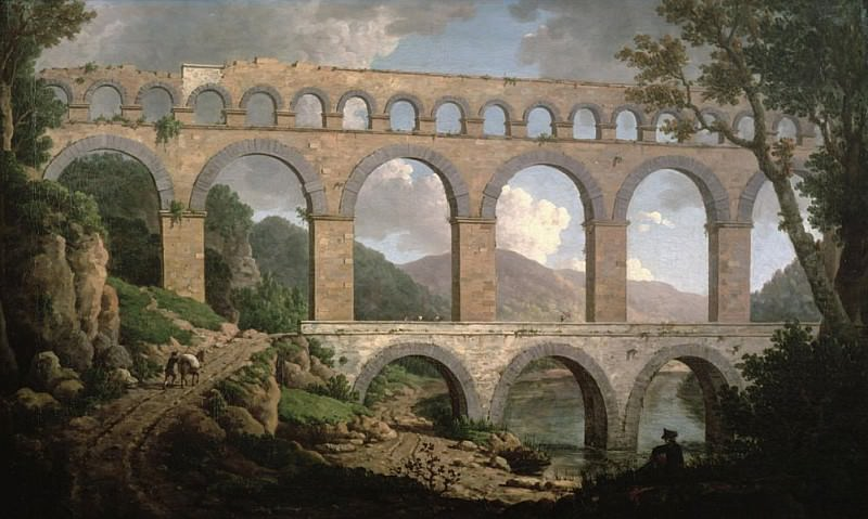 Pont du Gard, Nimes. William Marlow