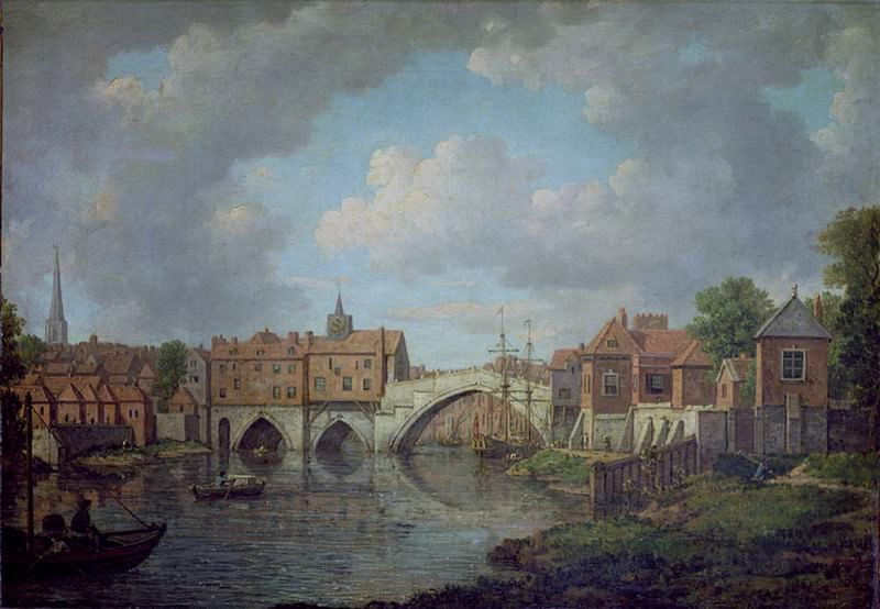 Ouse Bridge, York. William Marlow