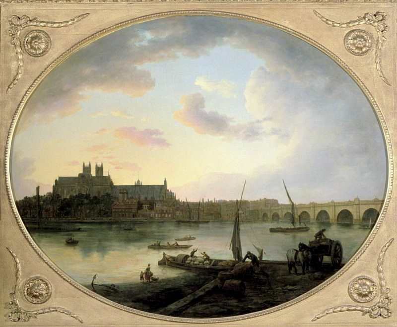 Вестминстерский мост. Уильям Марлоу