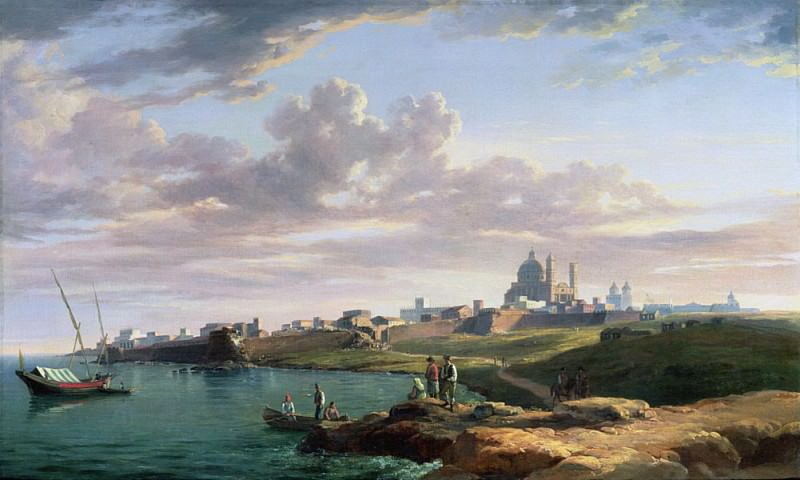 A View of Montevideo. William Marlow