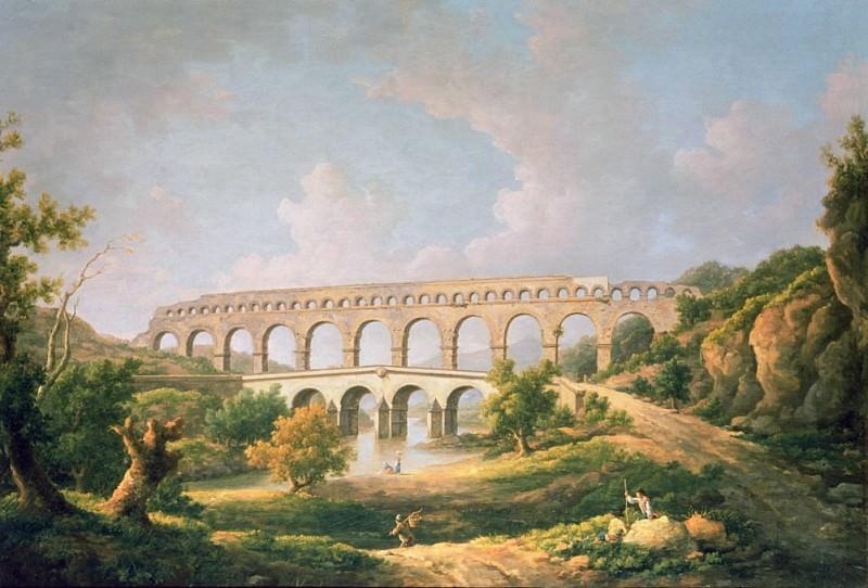 The Pont du Gard, Nimes. William Marlow
