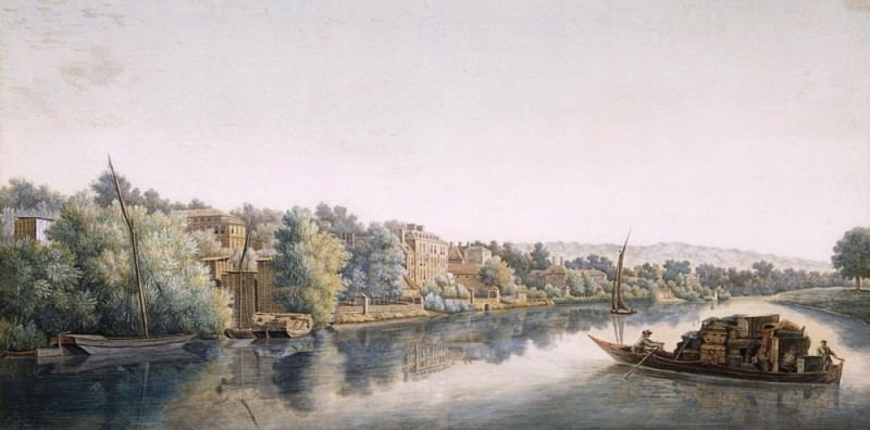 The Thames at Richmond. William Marlow
