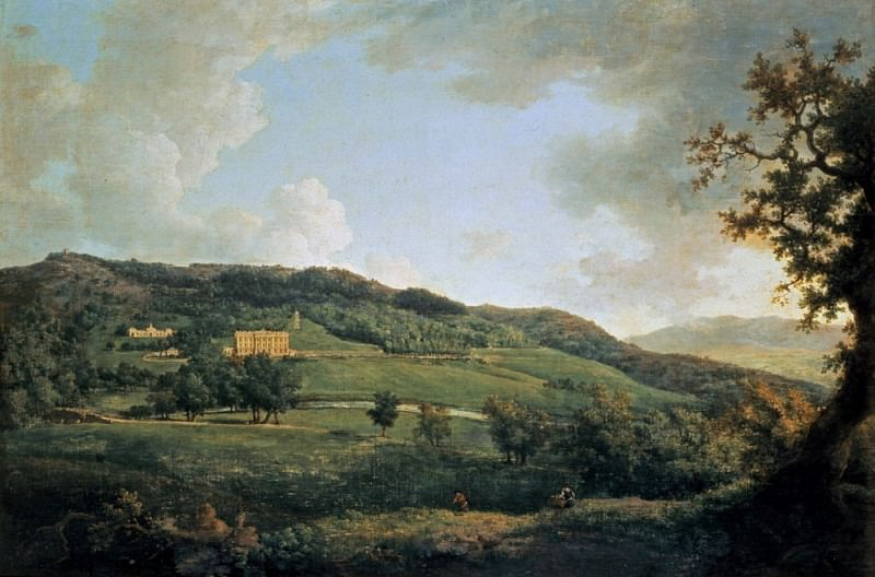 A view of Chatsworth. William Marlow