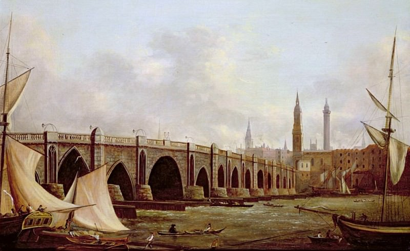 London Bridge. William Marlow
