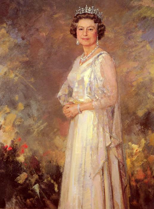 Her Majesty Queen Elizabeth II. Ricardo Macarron
