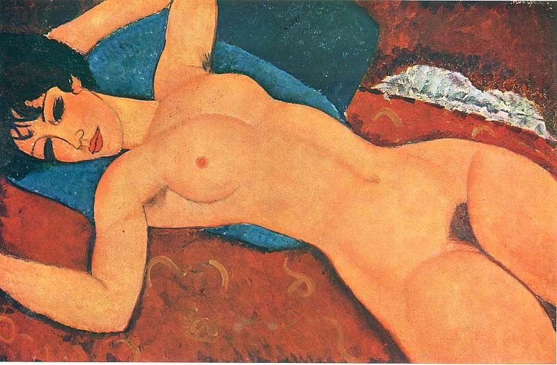 Reclyning Nude. Amedeo Modigliani