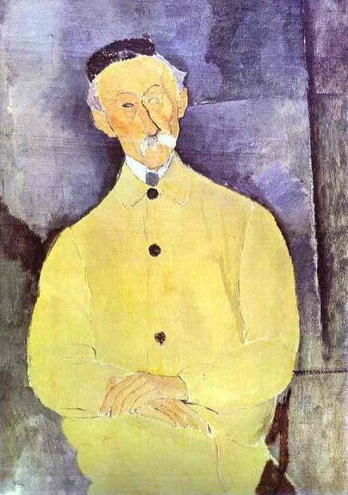 Портрет Сюрважа с одним глазом. Амедео Модильяни