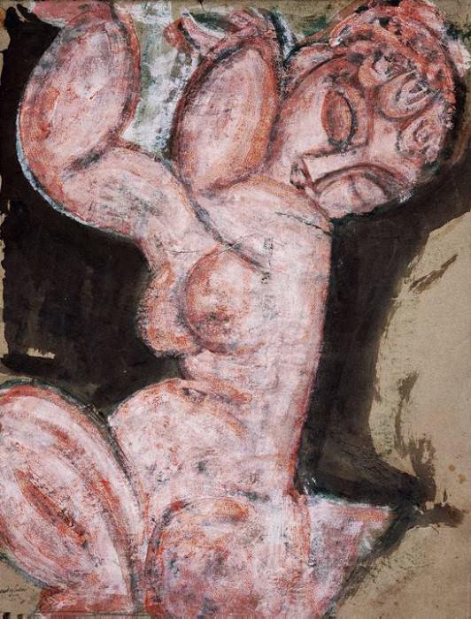 modigliani.nude-caryatid. Amedeo Modigliani