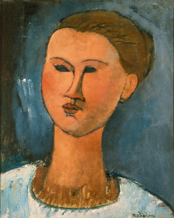 Portrait of a Woman. Amedeo Modigliani