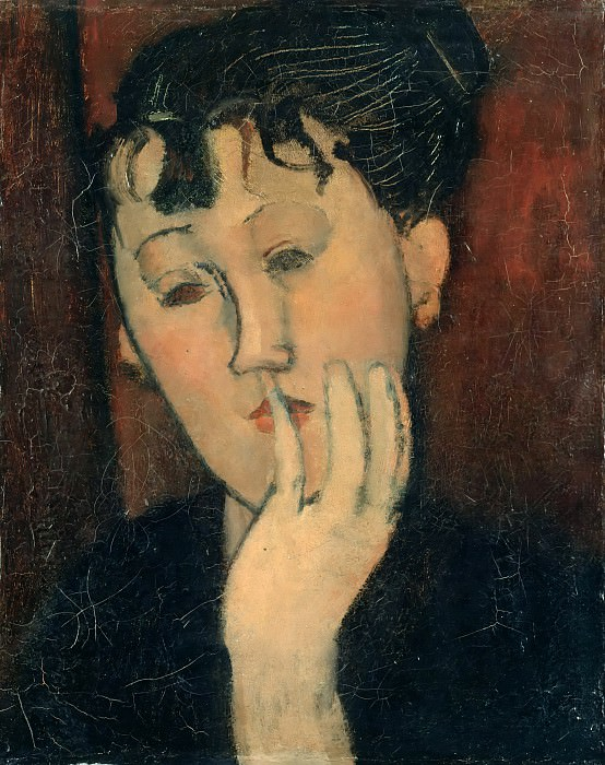 Head of Marthe. Amedeo Modigliani