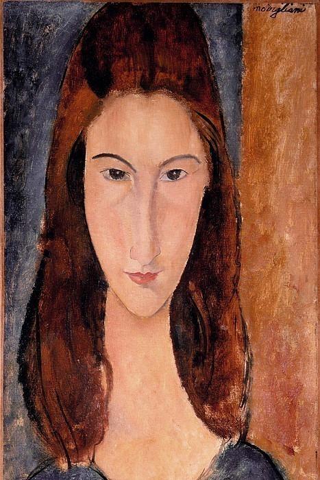 Jeanne Hebuterne - 1600x1200. Amedeo Modigliani