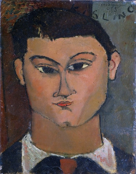 Painter Moise Kisling. Amedeo Modigliani