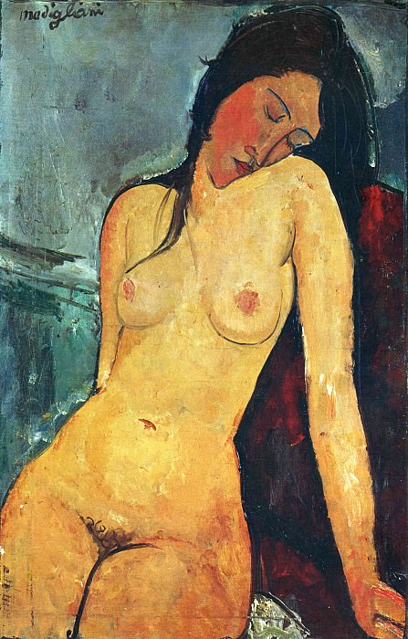 Nude model. Amedeo Modigliani