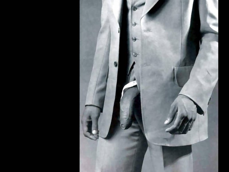 erotic art csg045 man in polyester suit-robert mapplethorpe. Robert Mapplethorpe