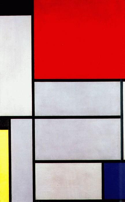 tableau i 1921. Piet Mondrian