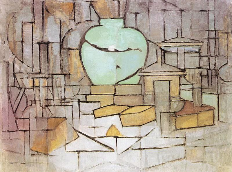 mondrian4. Piet Mondrian