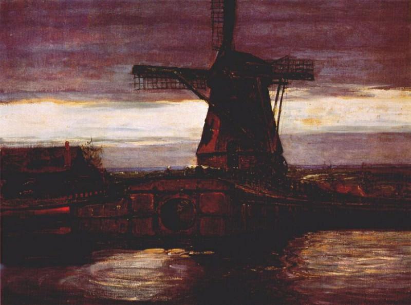 windmill 1905-6. Piet Mondrian