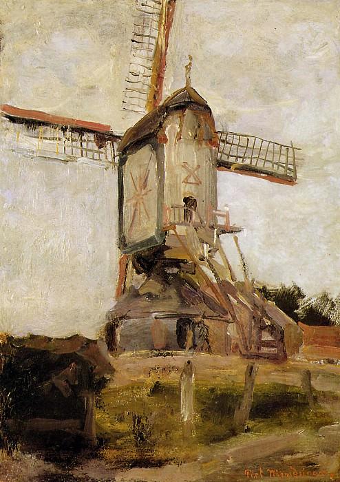Piet Mill of Heeswijk. Piet Mondrian