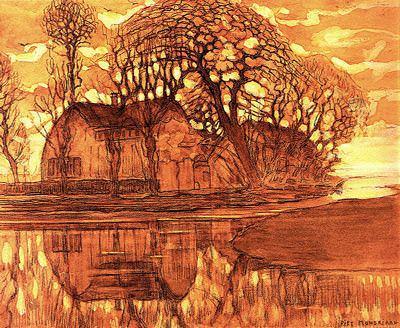 #14058. Piet Mondrian